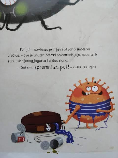 Mrljek i Prljek na smrdljivom putovanju
