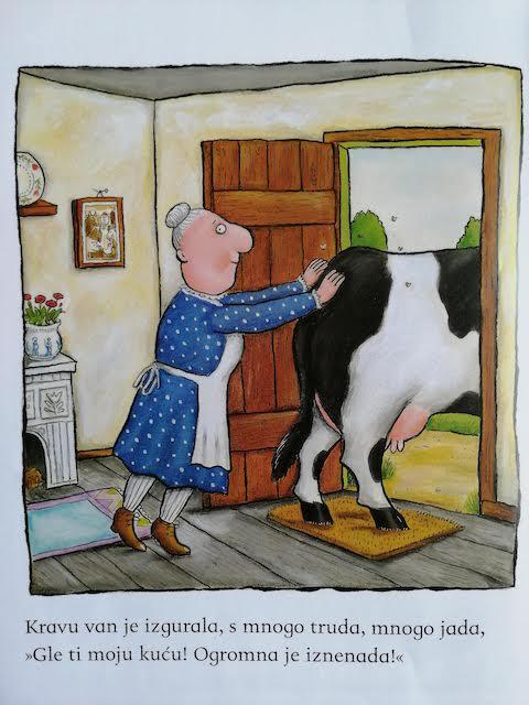 starica gura kravu