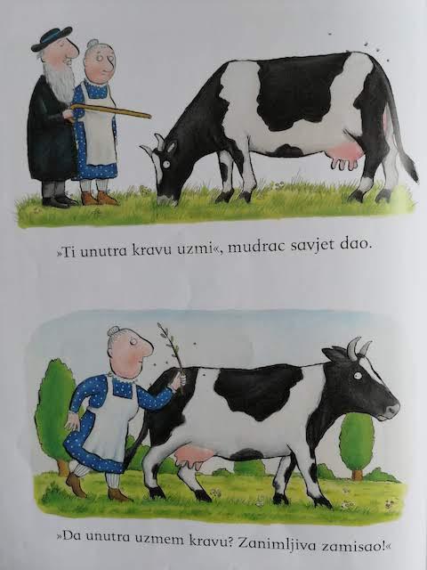 ti unutra kravu uzmi