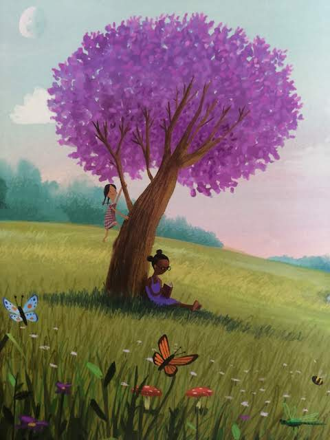 citanje ispod stabla
