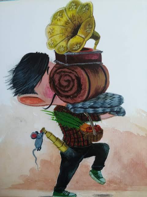 maliskijevic malicki se sprema za putovanje