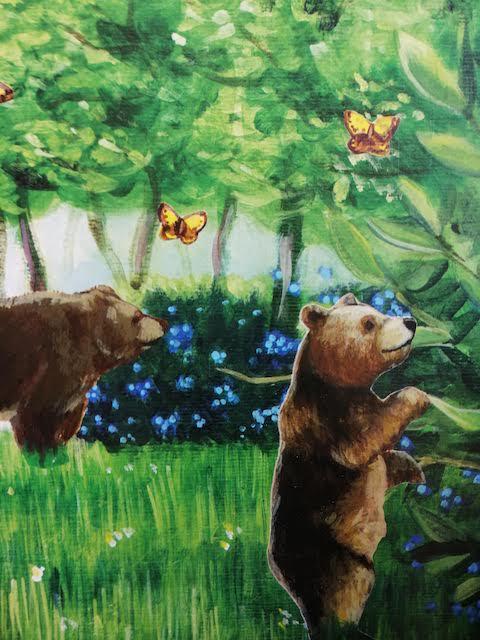medvjedi jedu borovnice
