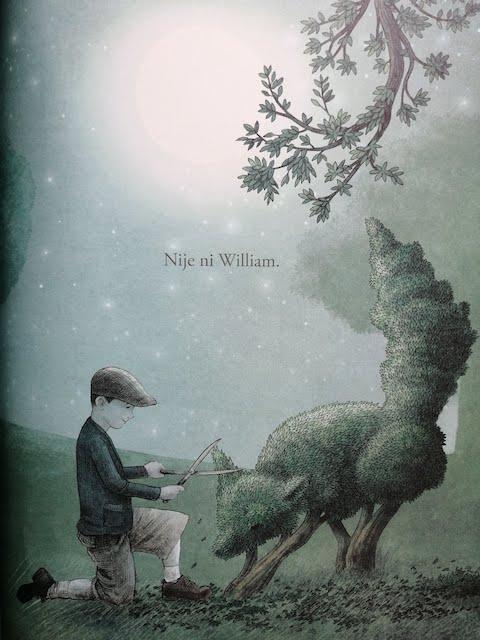 William oblikuje grm