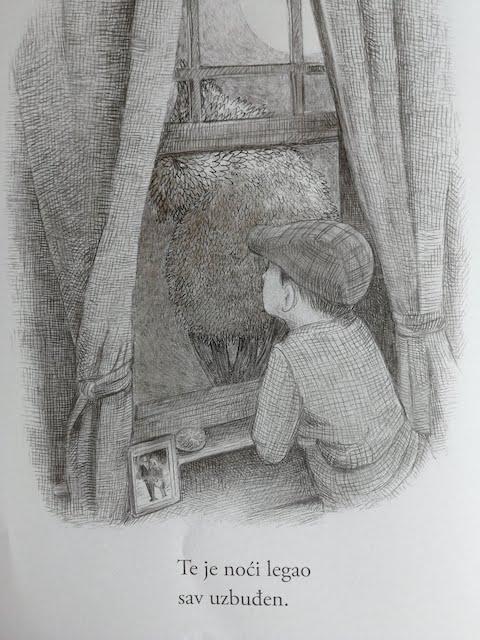 William gleda kroz prozor