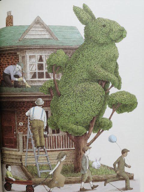 stablo oblikovano u zeca