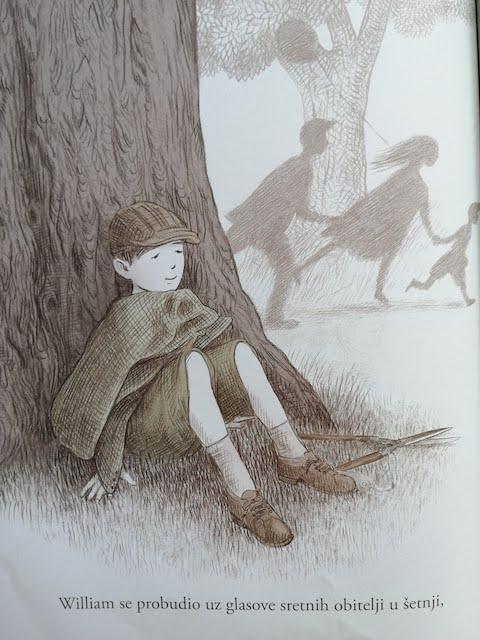 William se budi ispod stabla