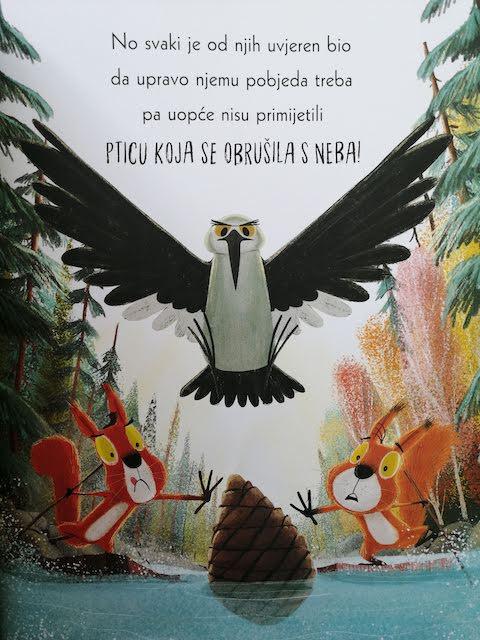 ptica krade ceser