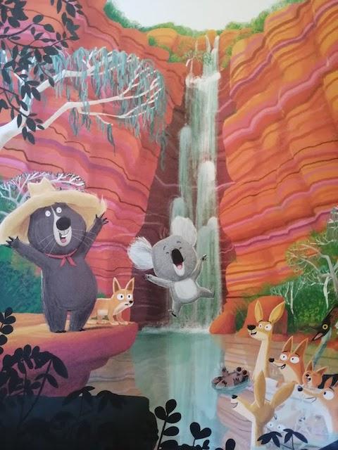 koala se igra s ostalim životinjama