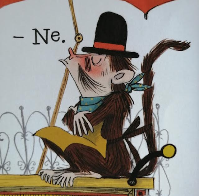 majmun ne želi posuditi svoj šešir