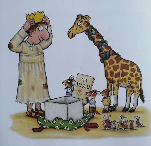 zahvalne životinje donijele su poklone Juri