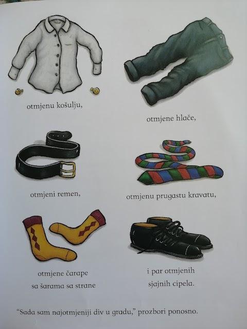 novi komadi odjeće