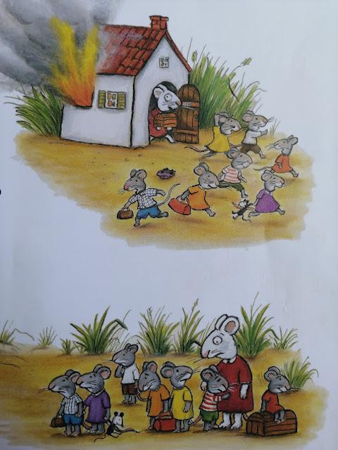 miševima gori kuća