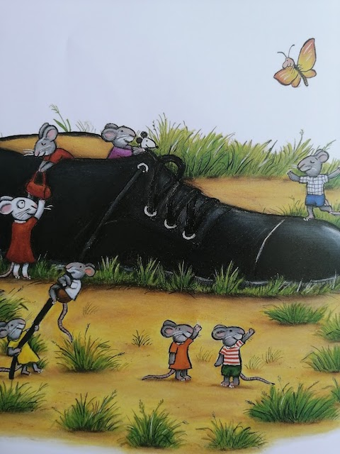 miševi su se smjestili u Jurinu cipelu