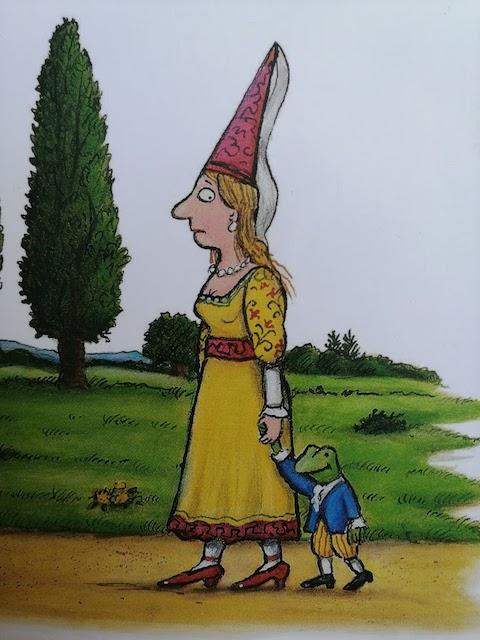 kraljevna i žabac u šetnji