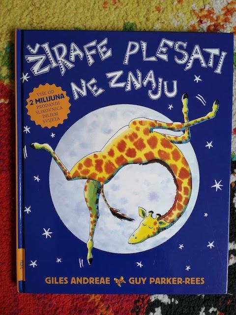 Žirafe plesati ne znaju