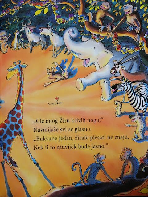 životinje se rugaju žiri i kažu žirafe plesati ne znaju