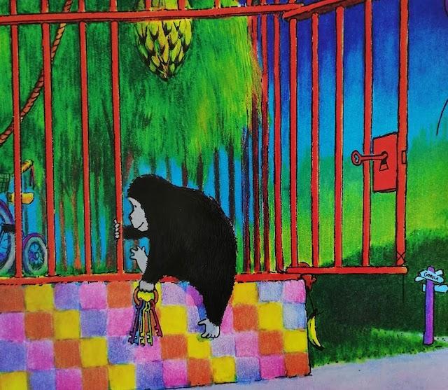 gorila bježi iz kaveza