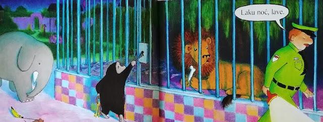 gorila oslobađa lava