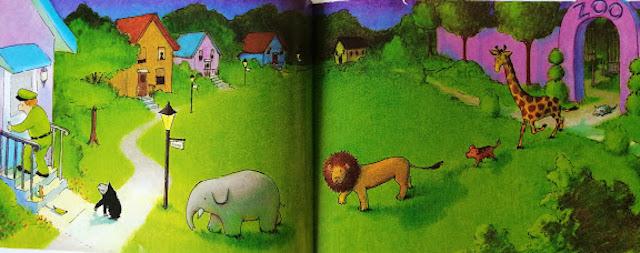 životinje se šuljaju do čuvareve kuće