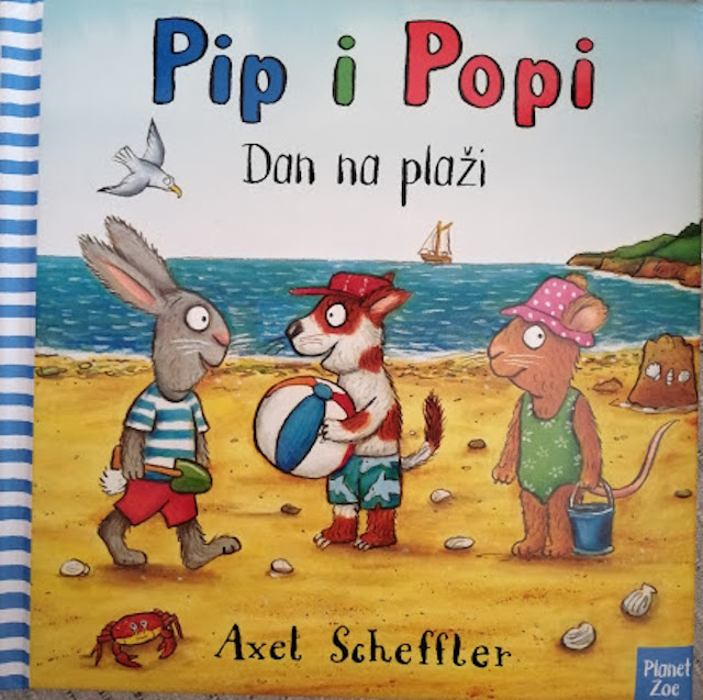 Pip i Popi: Dan na plaži