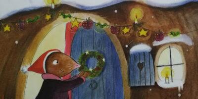 Sretan Božić, mala krtice!